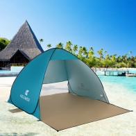 US $22.89 20% OFF|(120+60)* 150/200 * 100/130cm Outdoor Automatic Instant Set up Portable Beach Tent Anti UV Shelter Camping Fishing Hiking Picnic-in Tents from Sports & Entertainment on Aliexpress.com | Alibaba Group