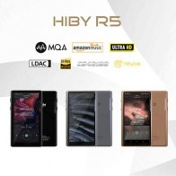 HiBy R5 Android 8,1 HIFI без потерь музыкальный mp3-плеер Amazon Music Ultra HD/WiFi/Air Play/LDAC/DSD/aptX/Dual CS43198/Hi-Res/MQA