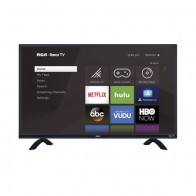 "RCA 55"" Class 4K Ultra HD (2160P) HDR Roku Smart LED TV (RTRU5527-W) - Walmart.com"