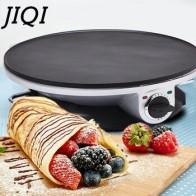 Электрическая блинница JIQI, сковорода для выпечки блинов, китайский пружинный рулон, гриль-машина для барбекю, духовка, гриль для жарки, вилк... - Вафельница-гриль
