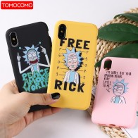US $1.59 20% OFF|Rick And Morty Funny Cartoon Comic Meme Funny Words  For iPhone 8 8Plus X 7 7Plus XR Xs Max Soft TPU Silicone Matte Case Fundas-in Fitted Cases from Cellphones & Telecommunications on Aliexpress.com | Alibaba Group