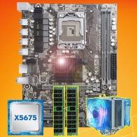 9583.64 руб. 36% СКИДКА|Бренд материнской платы распродажа HUANAN Чжи X58 материнской платы с Процессор Intel Xeon X5675 3,06 ГГц с охладитель 8G (2*4G) DDR3 ECC REG памяти-in Материнские платы from Компьютер и офис on Aliexpress.com | Alibaba Group