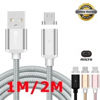 252.16 руб. 5% СКИДКА|3FT/6FT 2A Быстрый Micro USB Магнитный адаптер Прочный Плетеный Магнит зарядки зарядное устройство кабель для Samsung Galaxy S4 S6 S7 Note 5 купить на AliExpress