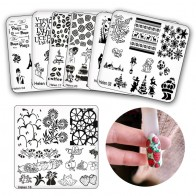54.93 руб. 15% СКИДКА|6*6 см квадратные пластины для штамповки ногтей DIY кружевные цветочные узоры для ногтей штамп штамповка шаблон и форма для ногтей трафареты-in Шаблоны для дизайна ногтей from Красота и здоровье on Aliexpress.com | Alibaba Group