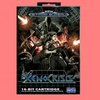 XENO CRISIS  16 Bit MD Game Card Include Retail Box For Sega Genesis & Mega Drive
