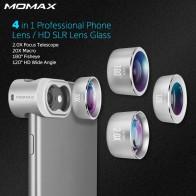 8518.12 руб. |Momax 4 в 1 Мобильные телефоны Передняя Задняя крышка рыбий глаз комплекты широкоугольный Макро Камера Lentes телефон объектив камеры для iPhone s 5 6 7 8 6 S Plus купить на AliExpress