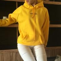 R$ 40.43 |Estilo feminino outono inverno ocasional carta de impressão novos pullovers mulheres hoodies camisolas floral o pescoço Completa em Agasalhos e moletons de Roupas femininas no AliExpress.com | Alibaba Group