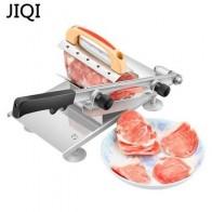 Машина для нарезки мяса JIQI, слайсер из сплава + нержавеющей стали для мяса и овощей
