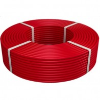 Купить Сшитый полиэтилен  PE-Xa/EVOH, 16х2мм, красный (200м) Vieir в Ульяновске - Трубы из сшитого полиэтилена