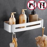 941.63 руб. 40% СКИДКА|Без ногтей алюминиевая угловая полка в ванную полка для косметики с одним рычагом ванная комната полка мощная всасывающая вешалка для полотенец для туалета-in Полки для ванной from Товары для дома on Aliexpress.com | Alibaba Group