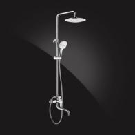 Купить Душевая система Elghansa SHOWER SET 2306683-2C (SET-25) , хром в Ульяновске - Душевые стойки, гарнитуры, панели
