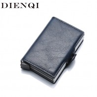 US $11.77 50% OFF|DIENQI Top Quality Black Wallet Men Money Bag Mini Purse Male Aluminium Rfid Card Holder Wallet Small Smart Wallet Thin Vallet-in Wallets from Luggage & Bags on Aliexpress.com | Alibaba Group