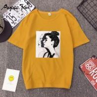 250.45 руб. 29% СКИДКА|2019 новые модные футболки женские весенне летние футболки с короткими рукавами и круглым вырезом для девочек свободный женский плотный облегающий Топ мягкая женская футболка-in Футболки from Женская одежда on Aliexpress.com | Alibaba Group