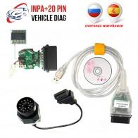 359.62 руб. |Иностранные склады INPA K + может INPA с FT232RL чип с переключателем для BMW может USB Интерфейс кабель с 20PIN для BMW-in Кабели и коннекторы для диагностики авто from Автомобили и мотоциклы on Aliexpress.com | Alibaba Group