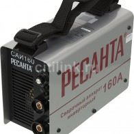 Купить Сварочный аппарат инвертор РЕСАНТА САИ-160 в интернет-магазине СИТИЛИНК, цена на Сварочный аппарат инвертор РЕСАНТА САИ-160 (774186) - Москва