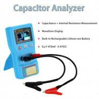2 в 1 цифровой автоматический конденсатор ESR Измеритель Качества емкости тест er внутреннее измерение сопротивления с SMD тестовыми зажимами купить на AliExpress