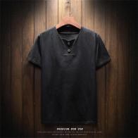 AL1 5men в футболка модная повседневная футболка летний Стиль Кнопка сплошной цвет мужская деловая Повседневная футболка купить на AliExpress