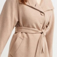 Женское пальто Dilvin ME-101A06825_Bej - Пальто пастельных тонов