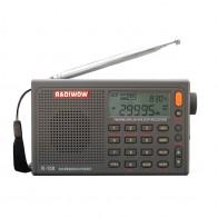 3246.93 руб. 70% СКИДКА|РАДИОВЕЩАТЕЛЬНЫЙ R 108 радио цифровой портативный радио FM стерео/LW/SW/MW/AIR/приемник DSP с ЖК дисплеем/высокое качество звука для внутреннего и наружного купить на AliExpress