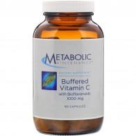 Metabolic Maintenance, Buffered Vitamin C with Bioflavonoids, 1,000 mg, 90 Capsules