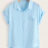 Рубашка с пуговицами
