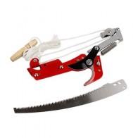 Раздвижные ножницы, инструмент для обрезки высоких веток дерева, сучкорез, высококлассные ножницы, выбор фруктов, садовый триммер, пила, вет...