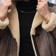 Мужская кожаная куртка Franko Armondi ME-19272-CK-5031 - Мужские кожаные куртки