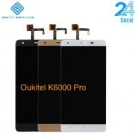 879.17 руб. 17% СКИДКА|Для оригинальный Oukitel K6000 Pro ЖК дисплей в мобильный телефон ЖК дисплей Дисплей + Сенсорный экран планшета Ассамблеи ЖК дисплей s + Инструменты 5.5