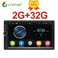 US $107.99 46% OFF|2Din Car Multimedia Player 2G+32G GPS Music Audio Video Android Car Stereo MP3 MP4 Wi Fi Bluetooth 7 inch TouchScreen SWC FM USB-in Car Multimedia Player from Automobiles & Motorcycles on Aliexpress.com | Alibaba Group