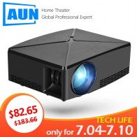 US $81.0 55% OFF|AUN MINI Projector C80 UP, 1280x720 Resolution, Android WIFI Proyector, LED Portable HD 3D Beamer for Home Cinema, Optional C80-in LCD Projectors from Consumer Electronics on Aliexpress.com | Alibaba Group