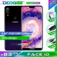 5819.11 руб. 11% СКИДКА|DOOGEE N10 мобильный телефон 3 ГБ ОЗУ 32 Гб ПЗУ 5,84 дюймов FHD + 19:9 дисплей 16.0MP камера 3360 мАч Android 8,1 4 GLTE смартфон-in Мобильные телефоны from Мобильные телефоны и телекоммуникации on Aliexpress.com | Alibaba Group
