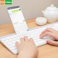 2902.04 руб. 27% СКИДКА|Оригинальный Xiaomi Miiw Bluetooth двухрежимный клавиатура 104 ключ беспроводной/Bluetooth 2,4 ГГц портативная клавиатура многосистемная Совместимость-in Клавиатуры from Компьютер и офис on Aliexpress.com | Alibaba Group