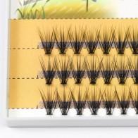 60 шт. наращивание ресниц 20d натуральные короткие норковые ресницы Индивидуальный кластер curl C 0,07 толщина мягкие ручной работы Фабричный маг... - Товары для красоты: бестселлеры