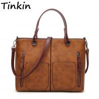 1012.8 руб. |Tinkin винтажная сумка на плечо женские повседневные сумки для ежедневных покупок-in Сумки с ручками from Багаж и сумки on Aliexpress.com | Alibaba Group