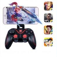 Беспроводной Bluetooth геймпад C6 для IOS Android PC ТВ для PS3 Геймпад контроллер Джойстик с 2,4 г приемник купить на AliExpress
