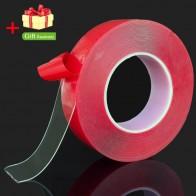 64.11 руб. 37% СКИДКА|Красный, прозрачный силиконовый двухсторонний клейкий стикер для автомобиля высокой прочности без следов клейкая наклейка-in Наклейки на автомобиль from Автомобили и мотоциклы on Aliexpress.com | Alibaba Group