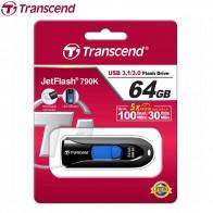 603.82 руб. |Transcend JetFlash Флешка USB 790 высокая скорость USB 3,1 3,0, флеш накопитель бизнес USB флеш накопитель 64 ГБ 32 ГБ 16 Гб 8 ГБ купить на AliExpress