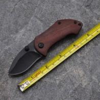 Брендовые черные охотничьи карманные ножи Складной ножи для шашлыков 440C 57 Лезвие сталь + алюминий Ebony Ручка купить на AliExpress