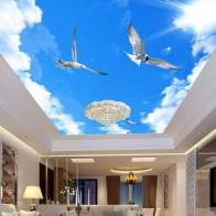 599.2 руб. 46% СКИДКА|Пользовательские 3D обои Домашний Декор голубое небо белые облака летящая птица потолочные фрески Обои в гостиную для Спальня стены 3D-in Обои from Товары для дома on Aliexpress.com | Alibaba Group