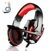 1343.93 руб. 24% СКИДКА|KOTION каждый G9000 3,5 мм стерео гарнитура лучший шлем глубокий бас геймер наушники с микрофоном светодио дный Litht для компьютера PS4 PC Gamer купить на AliExpress