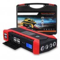 Автомобильный прыжок стартер 600A 89800 мАч Универсальное автомобильное зарядное устройство батарея прыжок стартер светодио дный USB светодиодный свет авто аварийный мобильный power Bank купить на AliExpress