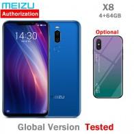 10922.8 руб. |Оригинальный Meizu X8 4G 64G 4G LTE мобильный телефон Snapdragon 710 Восьмиядерный 6,2