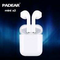 1038.26 руб. 49% СКИДКА|Padear мини X 2/1 гарнитура Bluetooth наушники Air Pods беспроводной для Iphone Android 6/7/8/плюс X xs RS Max Sumsung купить на AliExpress