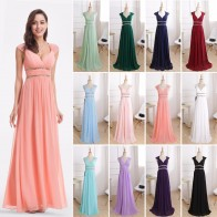 US $33.0 50% OFF|Formal Evening Dresses Long EP08697 Ever Pretty Women Elegant Navy Blue White V neck Sleeveless Empire Evening Dresses 2019 New-in Evening Dresses from Weddings & Events on Aliexpress.com | Alibaba Group