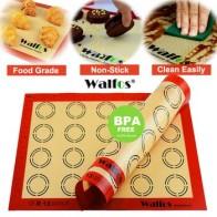 Силиконовый коврик для выпечки WALFOS, антипригарный коврик для выпечки, лист для выпечки кондитерских изделий, инструменты для раскатывания ... - Принадлежности для выпечки