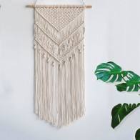 €8.76 24% de DESCUENTO|Macramé tejido colgante de pared Boho Chic bohemio hogar geométrico arte decoración Hermoso apartamento dormitorio decoración de la habitación-in Tapicería from Hogar y Mascotas on AliExpress - 11.11_Double 11_Singles' Day - Macrame Boho decor
