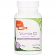 Zahler, Vitamin D3, 50,000 IU, 120 Capsules