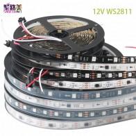 623.58 руб. 39% СКИДКА|DC12V SMD5050 RGB гибкая адресуемых 30/48/60 светодио дный s/m ws2811 светодио дный пикселей полосы света ленты внешние ic, 1 ic управления 3 светодио дный s купить на AliExpress