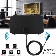 US $2.53 23% OFF| 80 Miles 1080P Indoor Digital TV Antenna Signal Receiver Amplifier TV Radius Surf Fox Antena HDTV Antennas Aerial Mini DVB T/T2-in TV Antenna from Consumer Electronics on Aliexpress.com | Alibaba Group