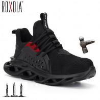 2019 جديد غطاء صلب لأصبع القدم الرجال أحذية أمان العمل أحذية رياضية النساء الأحذية حجم كبير 36 48 تنفس في الهواء الطلق حذاء ROXDIA ماركة RXM164 على AliExpress